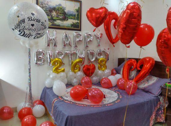 Trang trí sinh nhật cho người lớn| Giá 1.300.000đ
